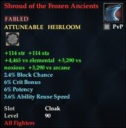 Shroud of the Frozen Ancients