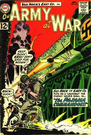 Cover for Our Army at War #122