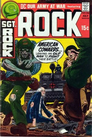 Cover for Our Army at War #234