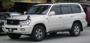 Toyota Land Cruiser (eighth generation) (100) (front), Serdang