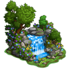 Serene Waterfall-icon