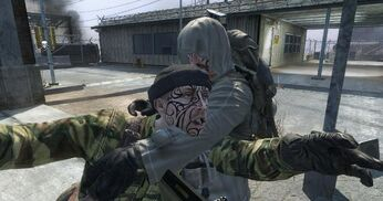 Two Soldiers Hug BO