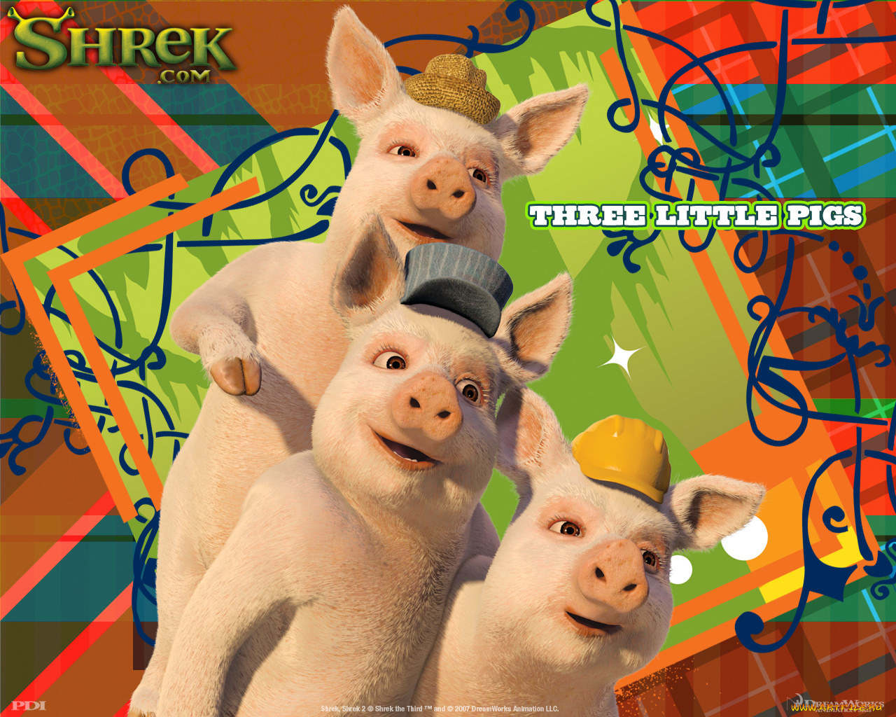 Shrek the Third - The Three Little Pigs - 03