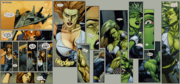Elizabeth Ross (Earth-1610) Ultimate Wolverine vs. Hulk Vol 1 4 transformation