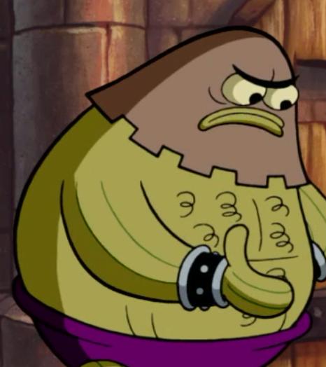 medieval prison guard - encyclopedia spongebobia