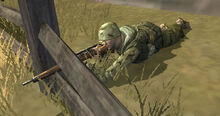 Featured Article Image about A sniper waiting to take the shot