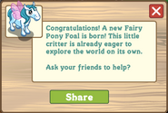 Fairy pony foal