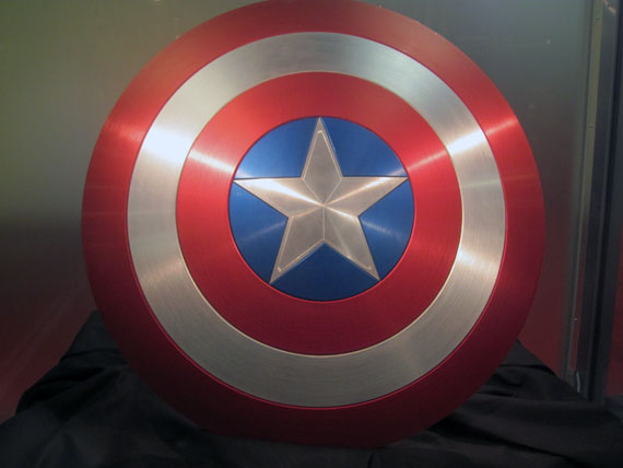 Tutorial | Como hacer escudo del capitán américa Photoshop