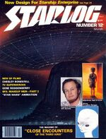 Starlog issue 012 cover