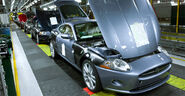 Jaguar xk assembly line