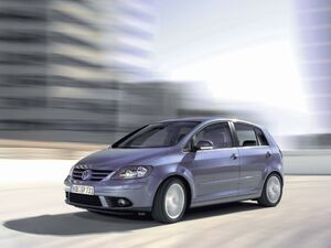 Volkswagen 2006 Golf Plus grau blau 1
