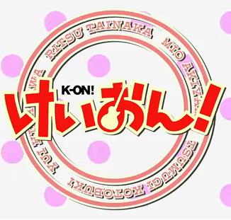 Image - K-on LOG...K Anime Logo