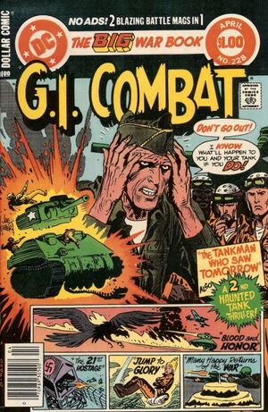 Cover for G.I. Combat #228