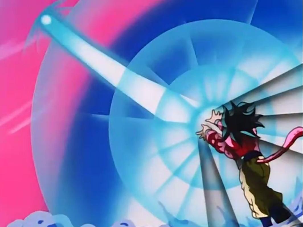 10x Kamehameha - Dragon Ball WikiGoku Super Saiyan 4 Kamehameha X10
