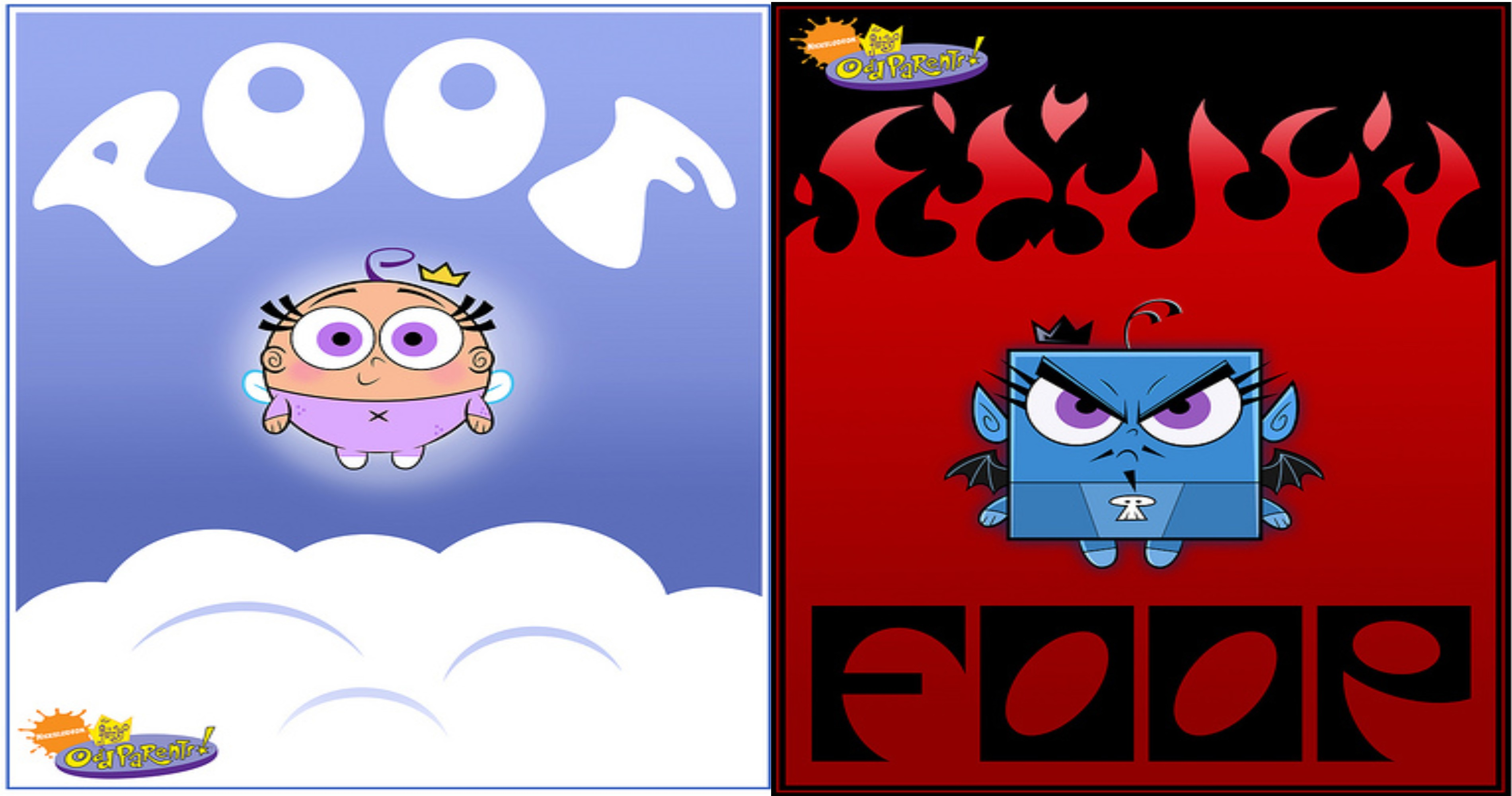 Fairly OddParents Poof and Foop