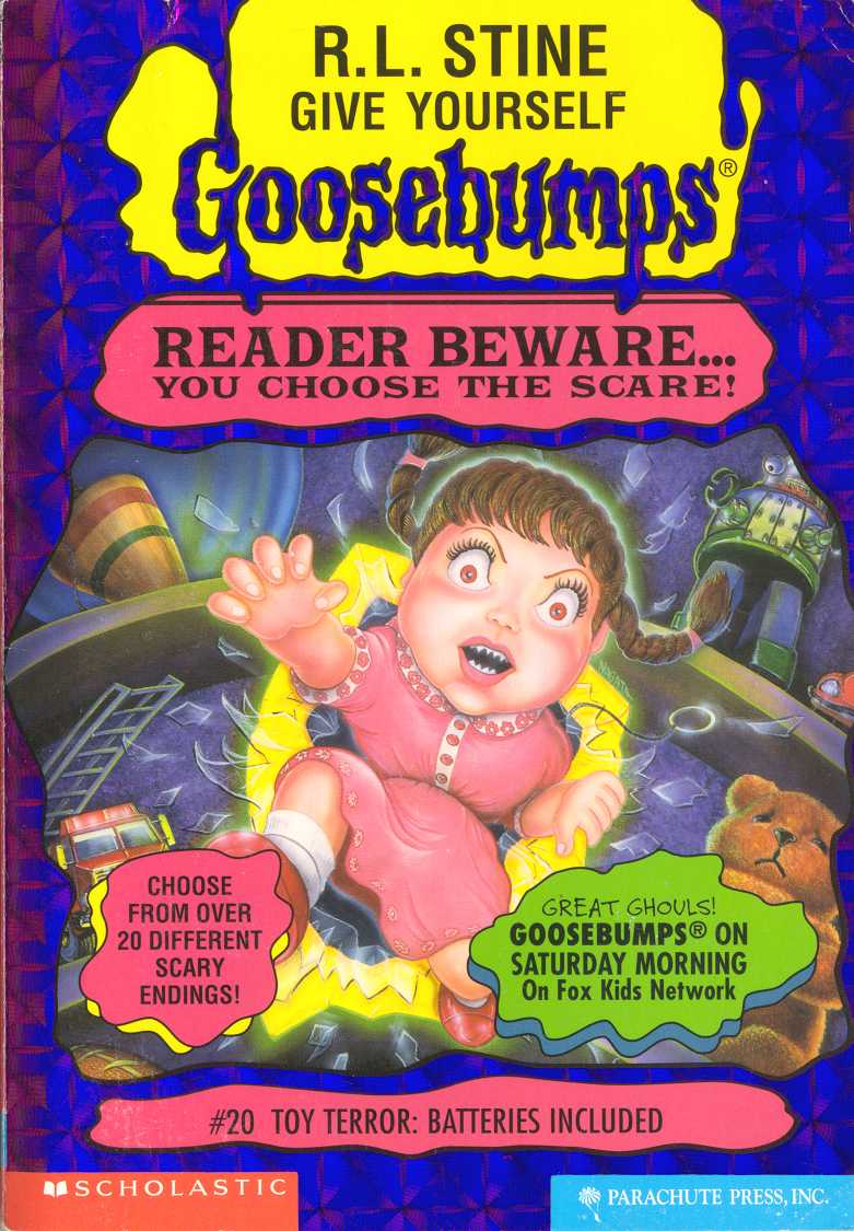 Goosebumps Slappy Toy