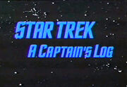 A Captain's Log