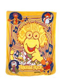 Fraggle Rock Music Fleece Blanket
