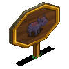 European Boar Mastery Sign-icon