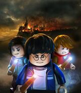 Lego Harry Potter Trio Burn