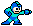Mega Man sprite Right