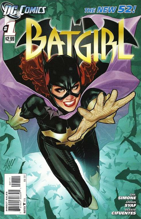 batgirl - comic book series wiki