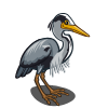 Grey Heron-icon