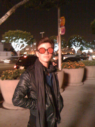 Chris Colfer. Shades