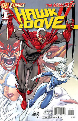 Cover for Hawk and Dove #1