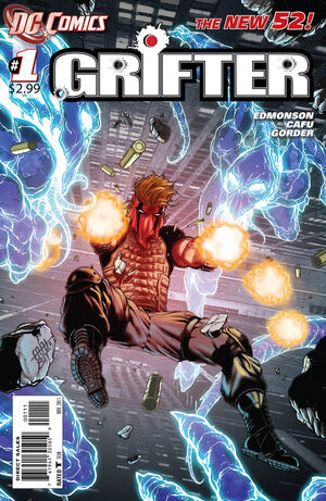 Cover for Grifter #1