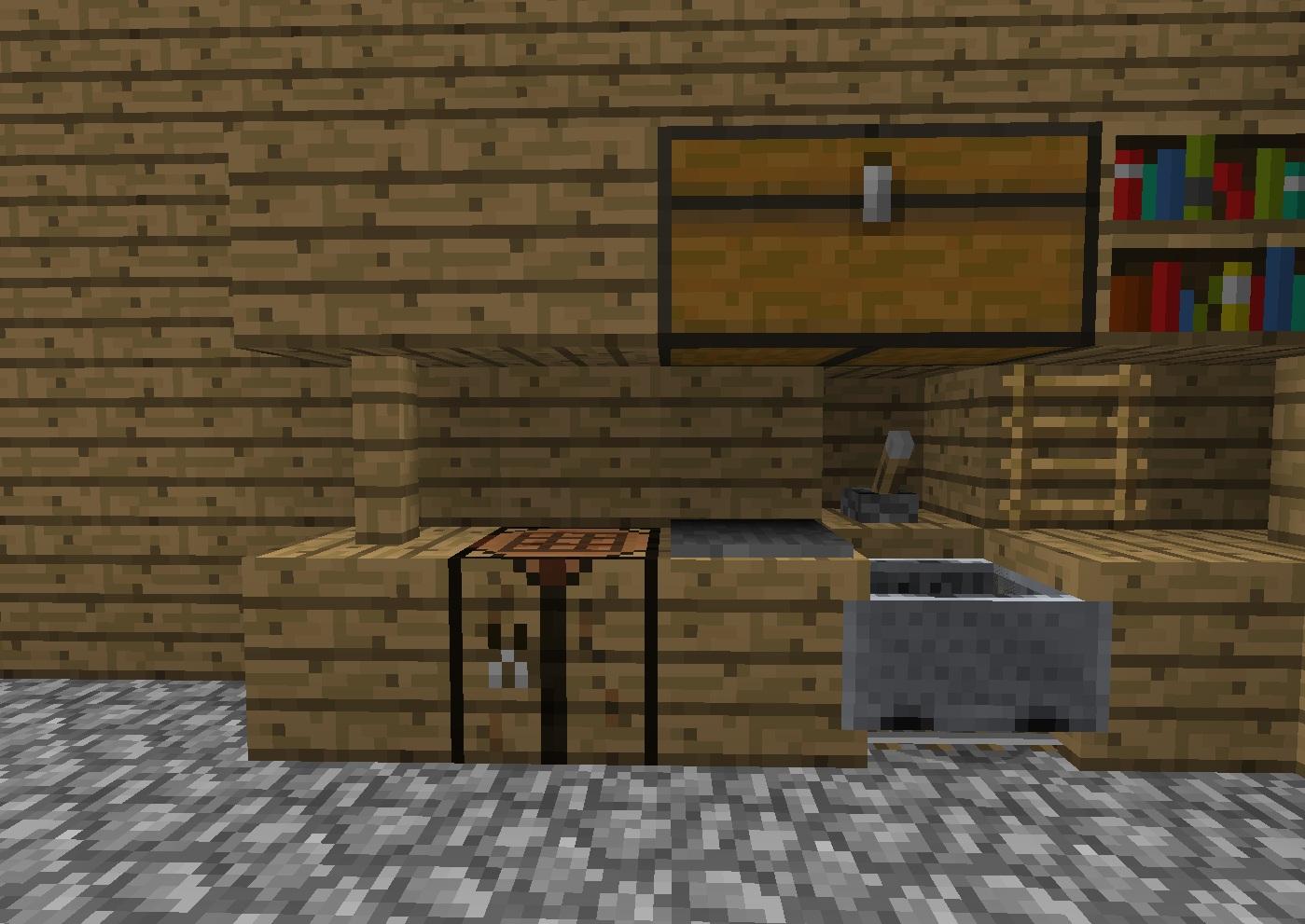 Kitchen minecraftdesign wiki for Kitchen designs in minecraft