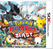 Pokmon Rumble Blast Boxart