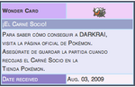 Spanish Darkrai