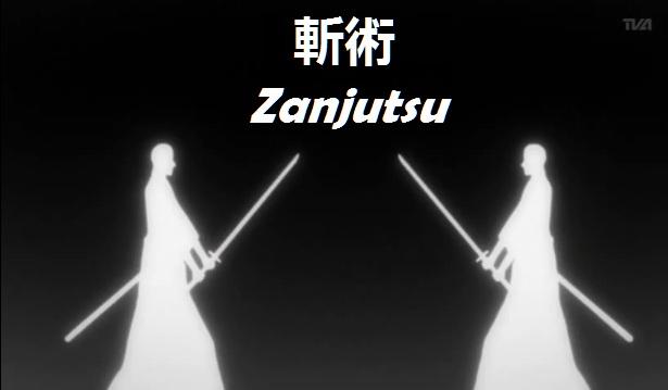 Zanjutsu - Arte de la espada. Zanjutsu