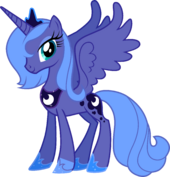 Canterlot Castle Luna