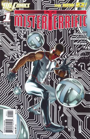 Cover for Mister Terrific #1