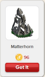 Matterhorn Rewardville unlocked