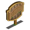 Pine Fence II Mastery Sign-icon