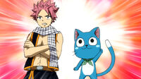 Natsu and Happy team up for S-Class Trial