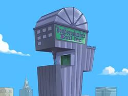 Doofenshmirtz Evil Inc. building