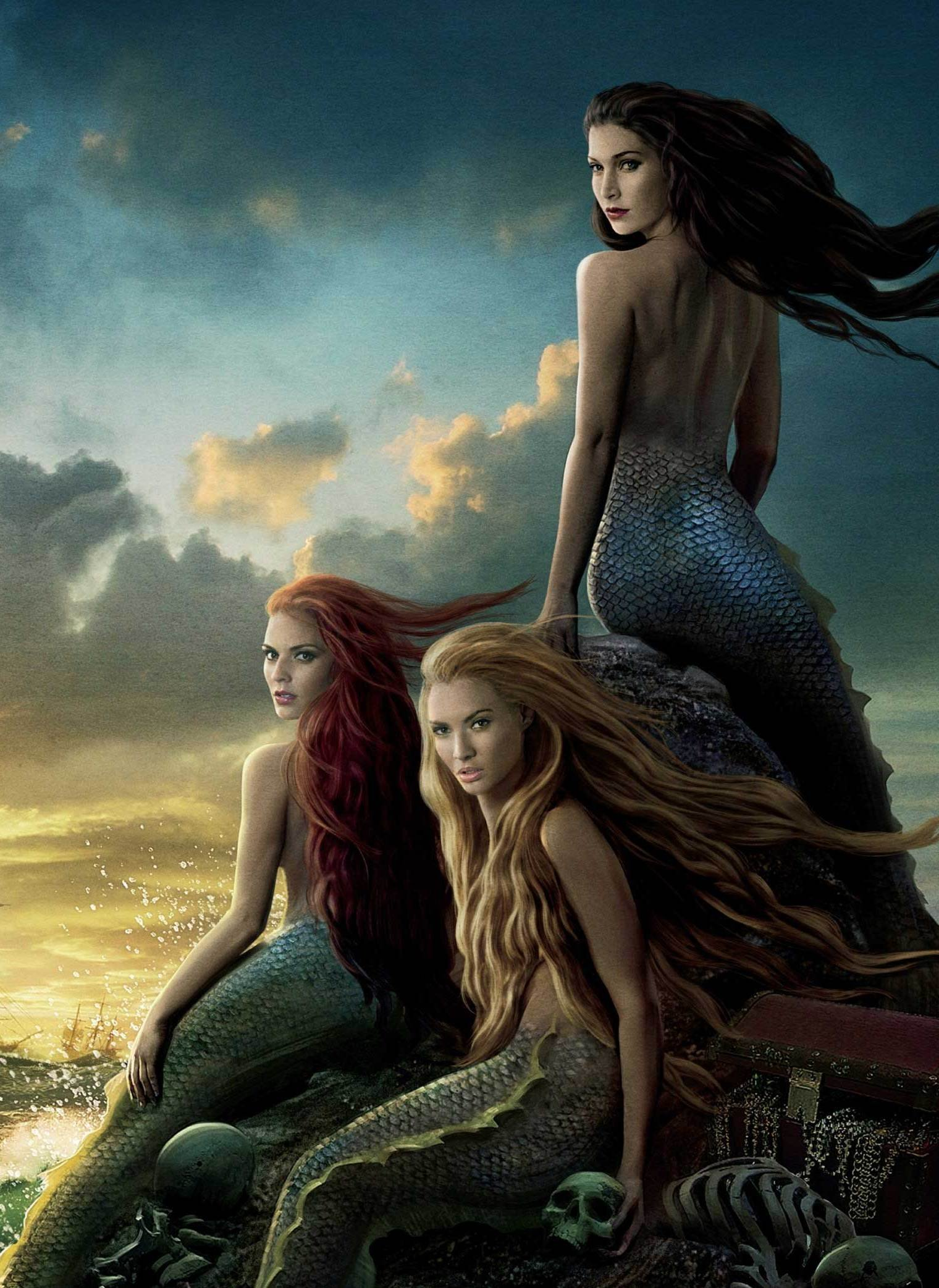Mermaids From Pirates of the Caribbean