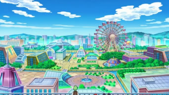 Nimbasa City in the anime