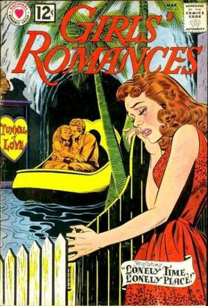 Cover for Girls' Romances #82