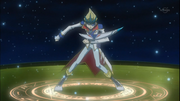 Kaito protected by Photon Circler