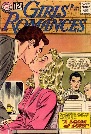 Cover for Girls&#39; Romances #86