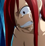 Erza&#39;s sadness