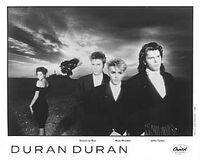 Liberty notorious duran duran press card duran duran