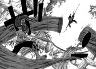 Erza defeats Azuma