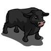 Black Angus Bull-icon