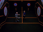 Galaxy class racquetball court